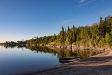 Sunrise At Nutimik Lake In The...