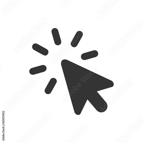 Fotomural  Web Click Icon