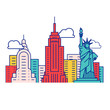 Iconic New York Symbols And Buildings