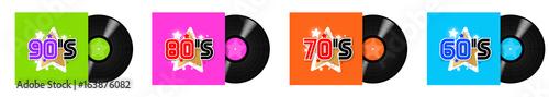 "Photographie  60's, 70's, 80's, 90""s Record LP / 33 tours"