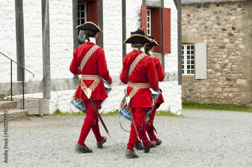 Fort Louisbourg Musicians - Nova Scotia - Canada Fototapete