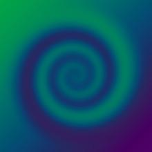 Green Blue Spiral Twist Gradient Background Design High Resolution