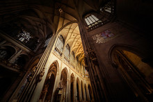 Interior Of Saint Vitus Cathed...