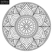 Flower Mandala. Vintage Decora...
