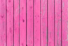 The Old Pink Wood Texture With...