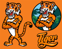 Et Of Cartoon Tiger Character