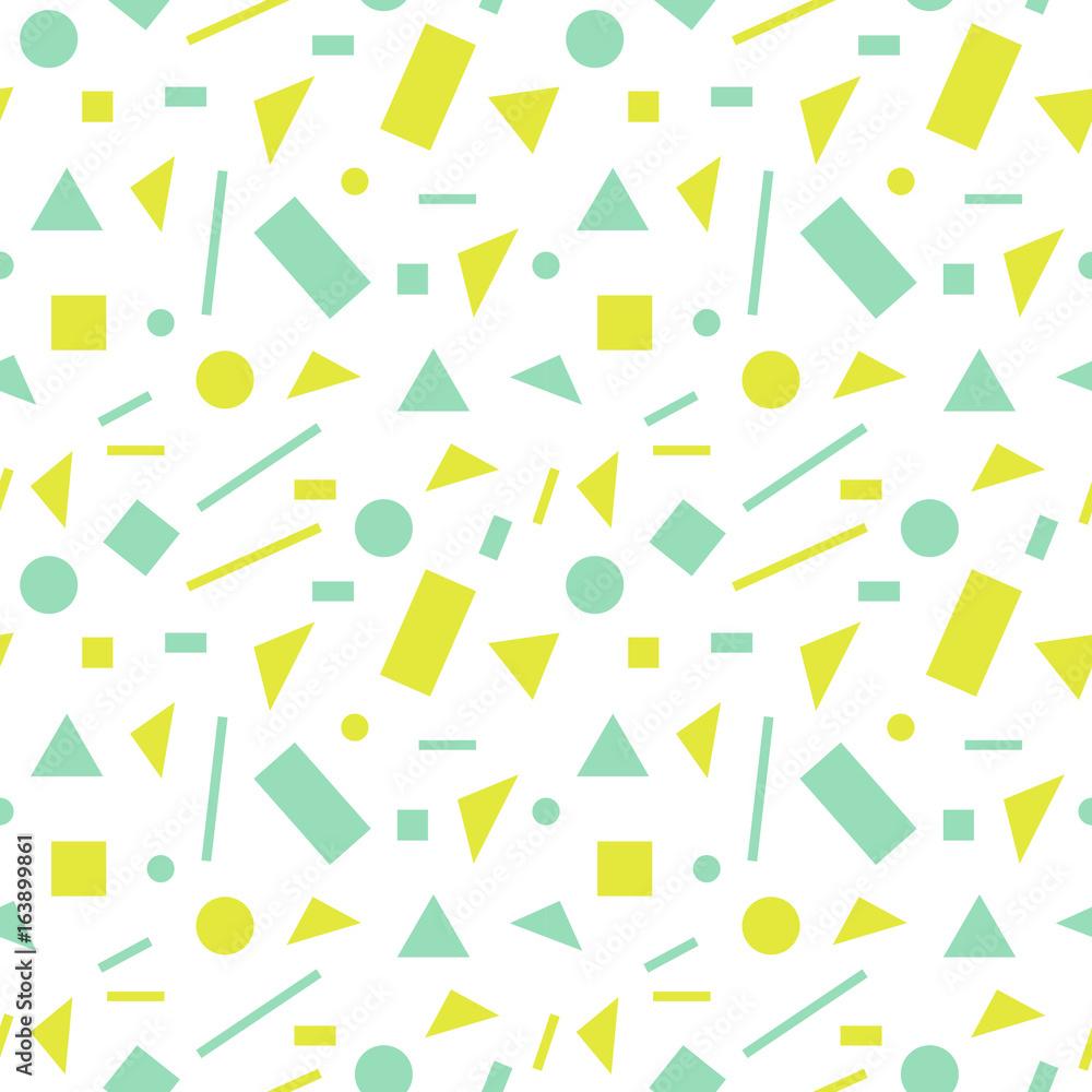 Fototapeta Seamless abstract colorful pattern. Vector illustration.