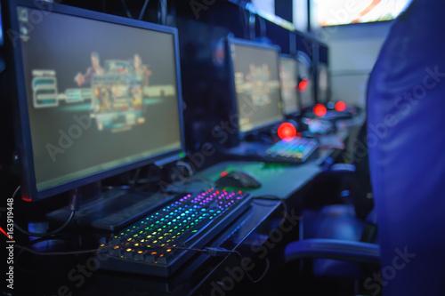 Zdjęcie XXL gry komputerowe online w kafejce internetowej