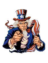 Uncle Sam Illustration I Created