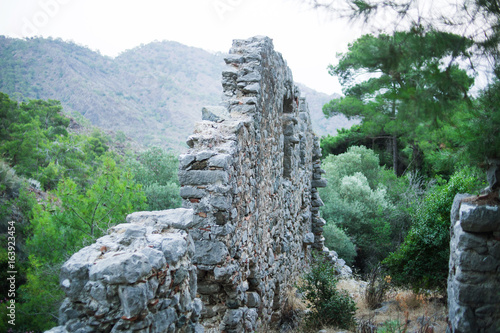 Photo  Ruins of Hephaestus. Turkey
