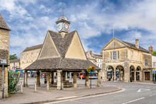 The Market Square In The Cotsw...