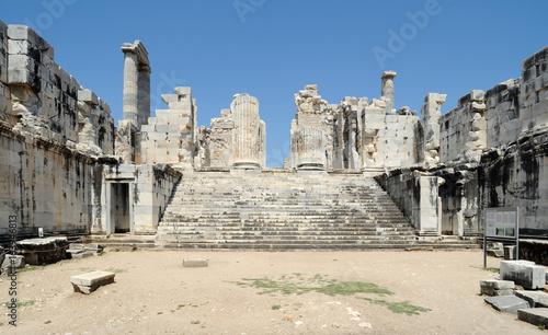 Photo Le chresmographéion du temple d'Apollon à Didymes en Anatolie