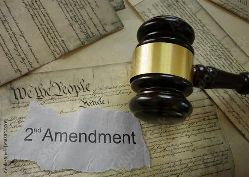 Photo  Second Amendment concept