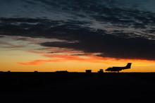 Military Airplane Silhouette