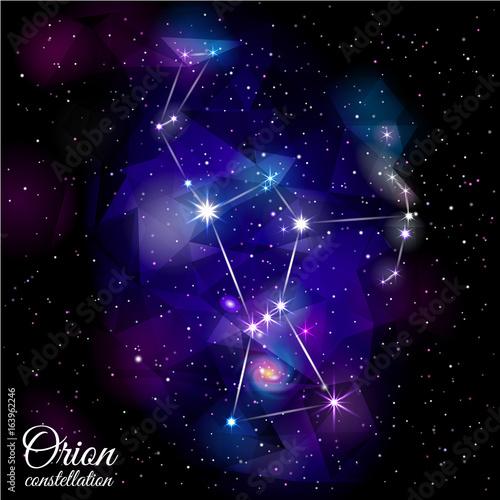 Fotografía Orion Constellation.