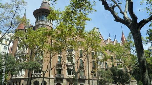 Deurstickers Brugge Monument-Barcelone