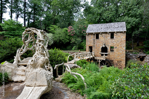 Photo North Little Rock Old Mill is listed on the National Register of Historic Places