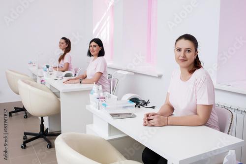 Fotografie, Obraz  Beautician team in salon interior