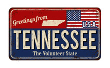 Greetings From Tennessee Vinta...