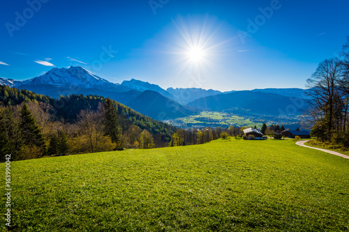 Deurstickers Alpen Berchtesgaden - Germany