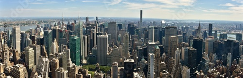 Photo  Skyline of Midtown Manhattan, Times Square, and Central Park in New York City