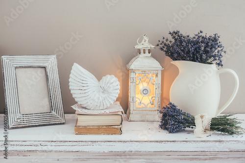 Obraz Shabby chic interior decor - fototapety do salonu