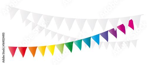 Photo Rainbow flags