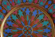 Detail Gothic Pattern On The P...