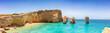 Panorama von Kato Koufonisi mit Kastelli Strand auf den kleinen Kykladen in Griechenland