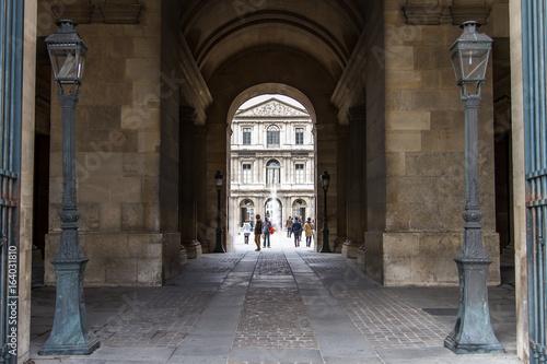 Fotografie, Tablou Le louvre Paris