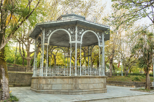 Bandstand on the park Canvas Print