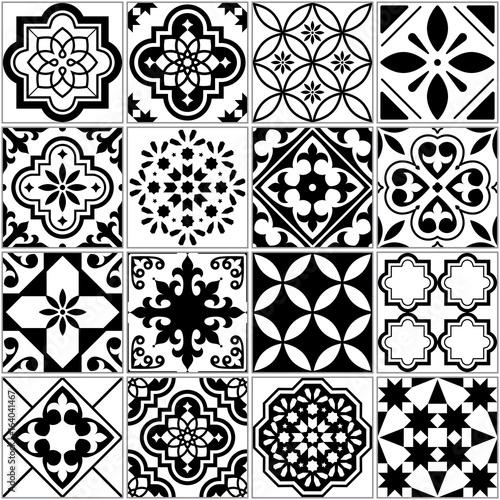 czarno-bialy-wektorowy-klasyczny-wzor