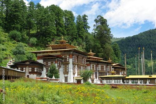 Photographie Kurjey Lheakhang Monastery in Bumthang, Bhutan