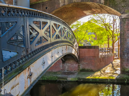 Fotografiet Castlefield, Manchester, England, United Kingdom
