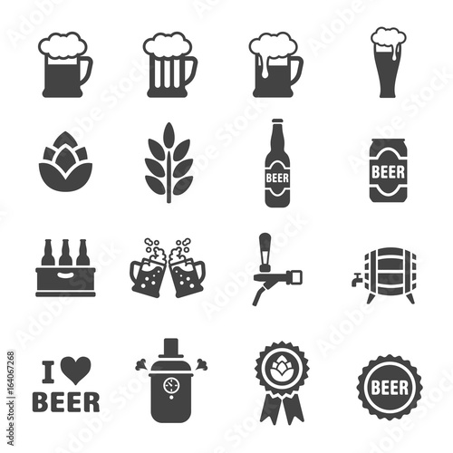 Photo beer icon