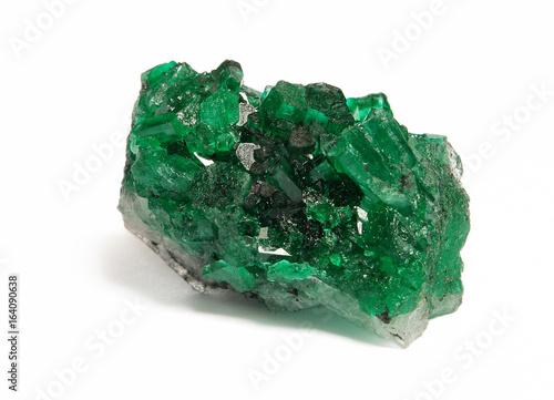 Fotomural esmeraldas gigantes cristales gemas piedras preciosas  emerald gemstone wtih  c