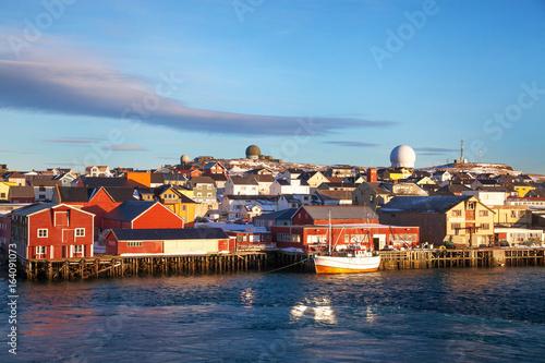 Fotografia, Obraz  Waterfront, Vardo, Norway
