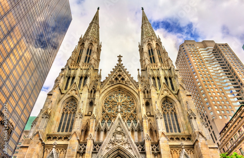 The Cathedral of St. Patrick in Manhattan, New York City