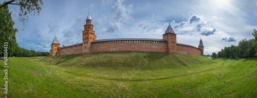 Fortress in Velikiy Novgorod Canvas