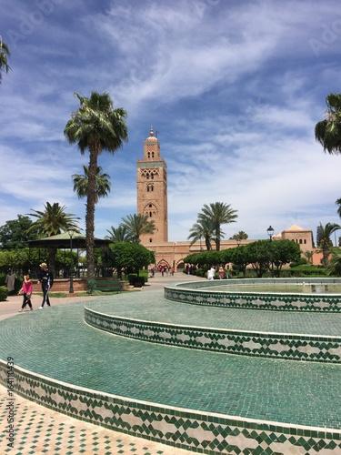 Fotobehang Zuid-Amerika land Koutoubia, Marrakech