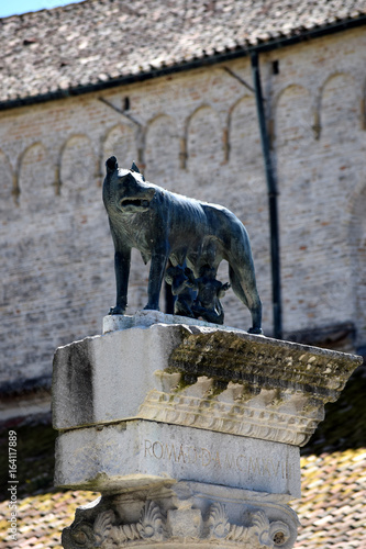 Aquileia Friuli Venezia Giulia Friul Friaul-Julisch Venetien Italia 프리울리베네치아줄리아 Canvas Print