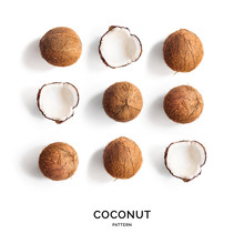 Creative Layout Made Of Coconu...