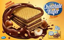 Chocolate Wafer Ads