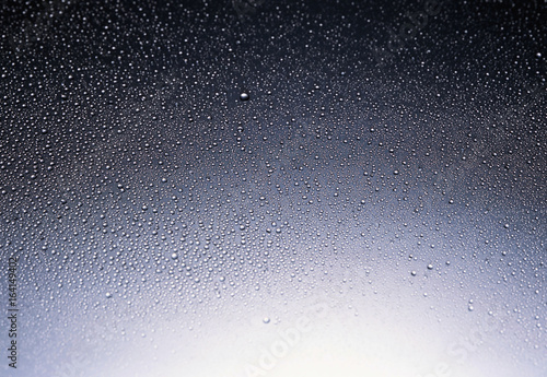 Fotografia  color water splash isolated on white background