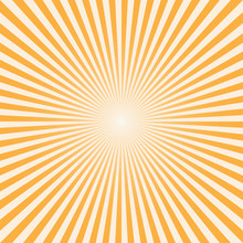 Vector Background Sun Rays Wit...