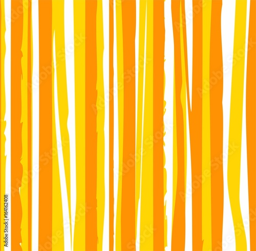 Láminas  Uneven yellow stripes, seamless background, vector