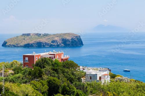 Fotografie, Obraz  Isola di Santo Stefano da Ventotene