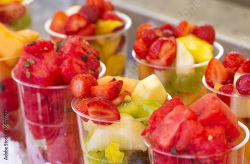 Fényképezés  macedonia di frutta