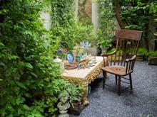 Relaxation Corner, Garden, Tea Time