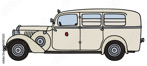 Vintage ambulance - Buy this stock vector and explore similar